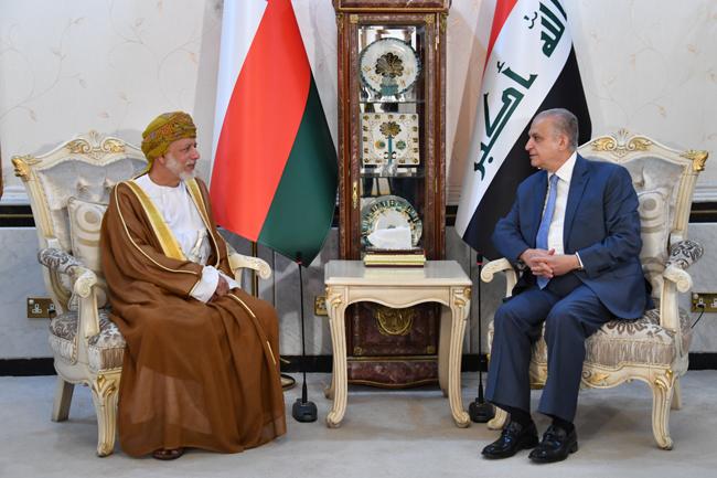 العراق يبحث مع عمان أهمية وضع حلول سياسية للأزمات الراهنة في المنطقة