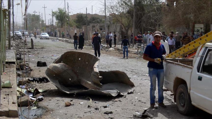 مقتل خمسة انتحاريين حاولوا تنفيذ اعتداءات في قضاء عين التمر غربي كربلاء