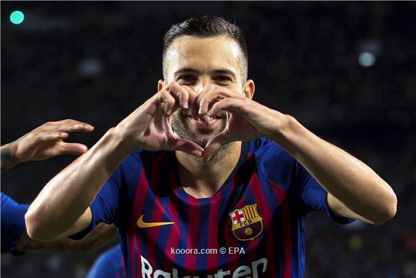 عقب فوز برشلونة على فاليكانو .. جوردي ألبا يطالب إنريكي بتصحيح قراره