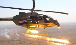 طائرات الجيش تنفذ ضربات جوية على مواقع داعش في سوريا