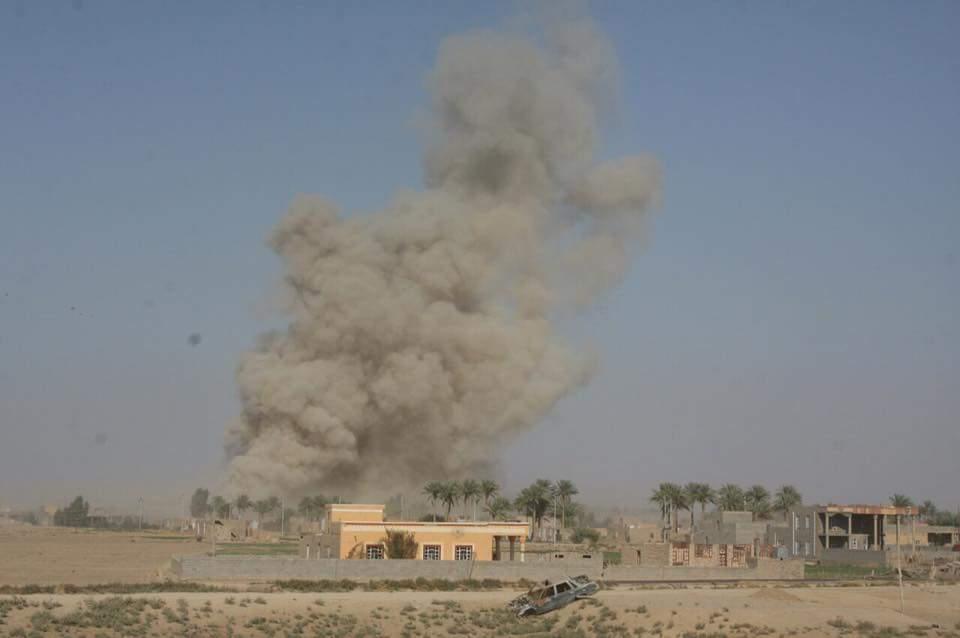 تدمير مقر لداعش ومخزن للاعتدة بضربة جوية في الموصل
