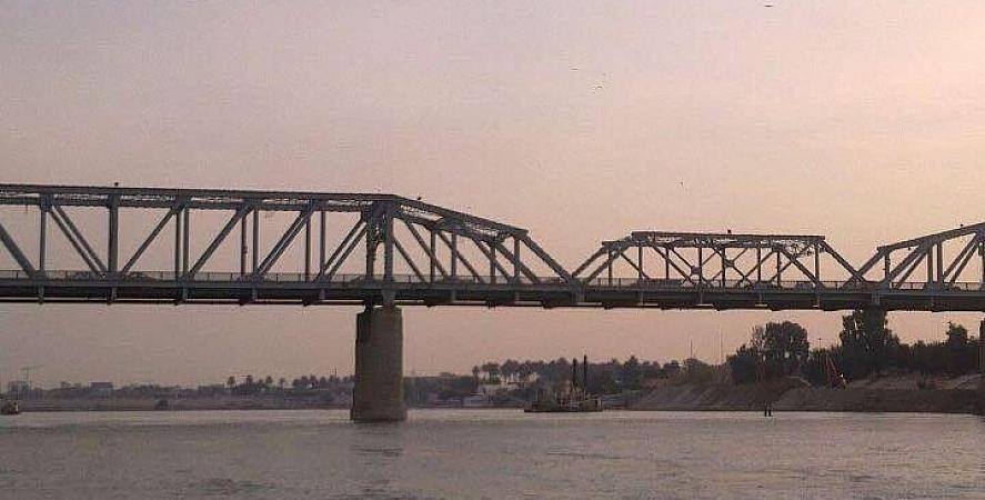 قطع جسر الصرافية شمالي بغداد لمدة ثلاث ساعات والسبب ؟؟؟