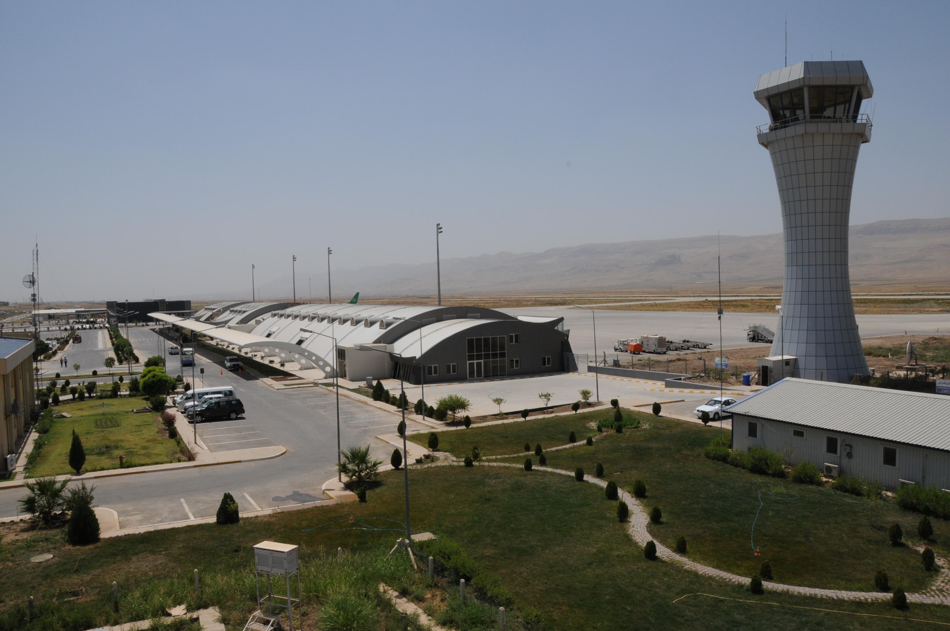 مطار السليمانية يشكو تراجع اعداد المسافرين