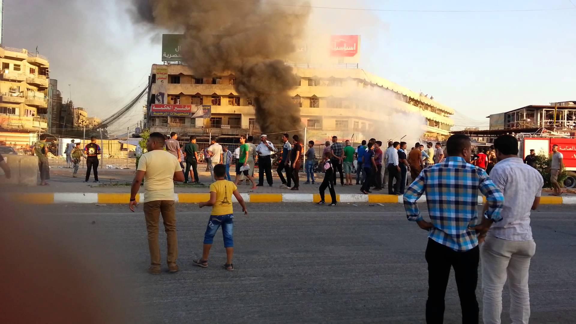 مقتل شخصين وإصابة تسعة آخرين بجروح مختلفة بانفجار عبوة ناسفة جنوبي بغداد