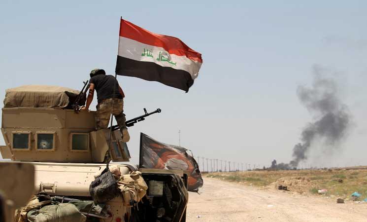 انطلاق عمليات تفتيش واسعة لمطاردة عناصر داعش في صحراء الأنبار