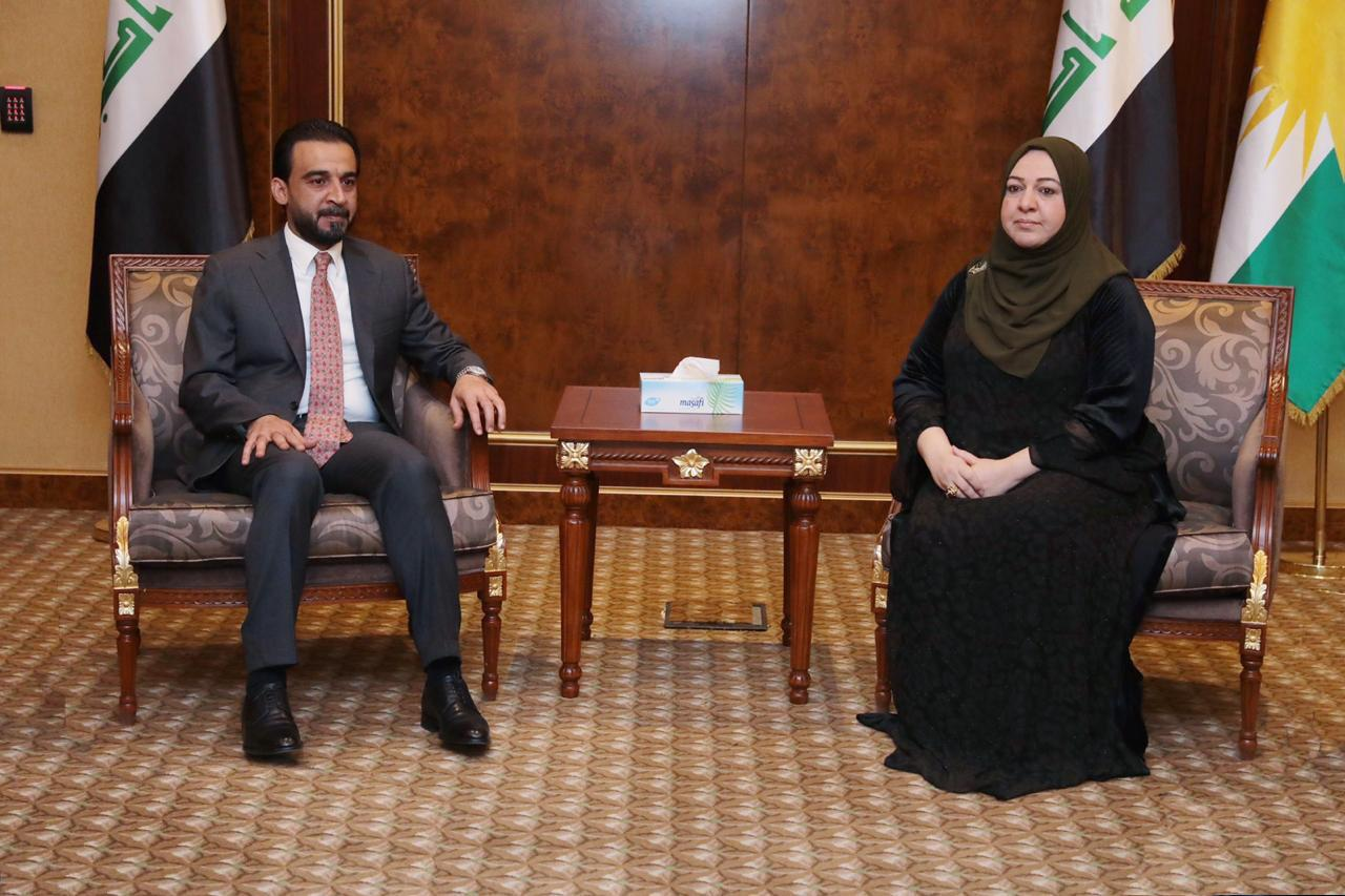 Halbousi discusses with the Kurdistan Parliament the law of financial management and the federal budget for 2020 Image