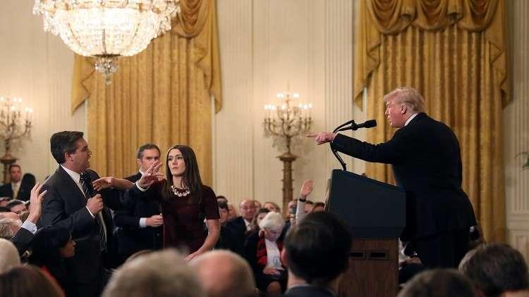 """""""سي إن إن"""" تقاضي البيت الأبيض"""