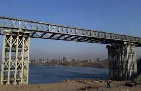 اعادة افتتاح جسر البيضة العائم في قضاء القائم بالأنبار