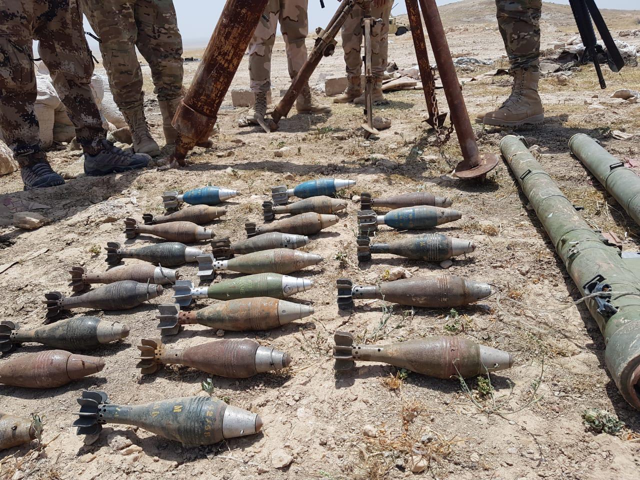 بالصور ..  اقتحام مخبأ لداعش جنوب غربي الموصل