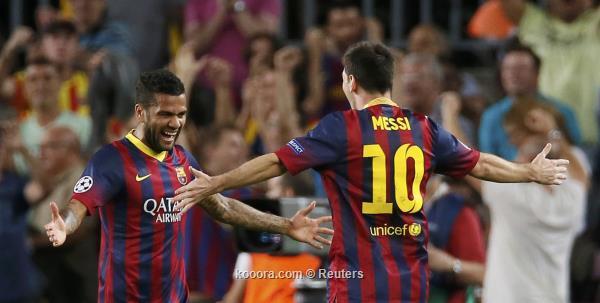 ألفيس: في برشلونة وبجوار ميسي تعلمت ما تعنية كرة القدم