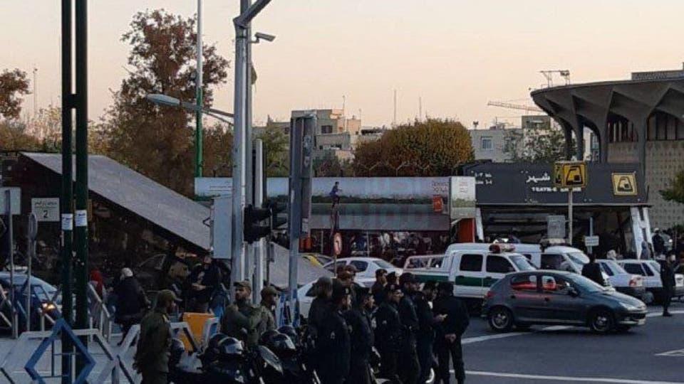 قتيل خلال مظاهرات على زيادة أسعار الوقود في إيران