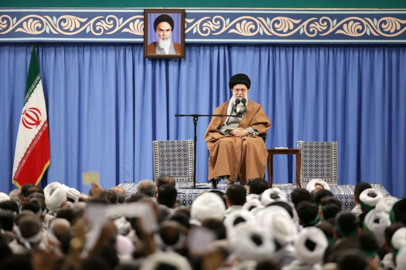 """في قاموس طهران .. اي تحرك شعبي من أجل مطالب اجتماعية هو """"مؤامرة من صنع الأعداء"""""""