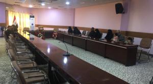 وصول لجنة رئاسة الوزراء الى الديوانية للتحقيق بالعنف ضد المتظاهرين