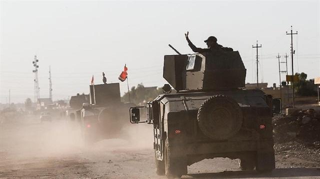 اقتحام حي الجزائر في الجانب الايسر من الموصل