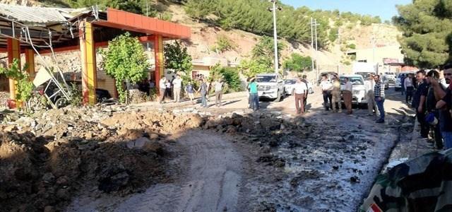 طائرات تركية تقصف طريقاً رئيسياً بمدينة دهوك