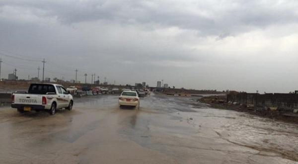الانواء الجوية تتوقع هطولا للأمطار في الايام الاربعة المقبلة بحرارة 17 درجة مئوية