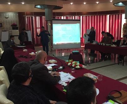 UNDP تناقش  برنامج الدوائر الحكومية في المثنى لخطة التنمية المحلية للأعوام 2018-2022