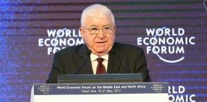 رئيس الجمهورية: العراق منفتح أمام كل المستثمرين للمشاركة في إعادة إعمار البلد