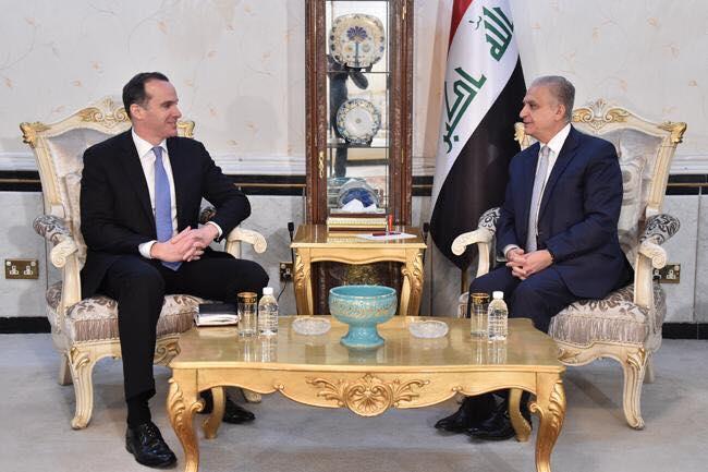 وزير الخارجية يبحث مع مبعوث ترامب اوضاع الحدود السورية