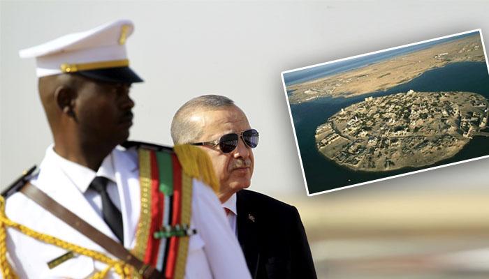 """السودان """"يهدي"""" اردوغان جزيرة سواكن"""