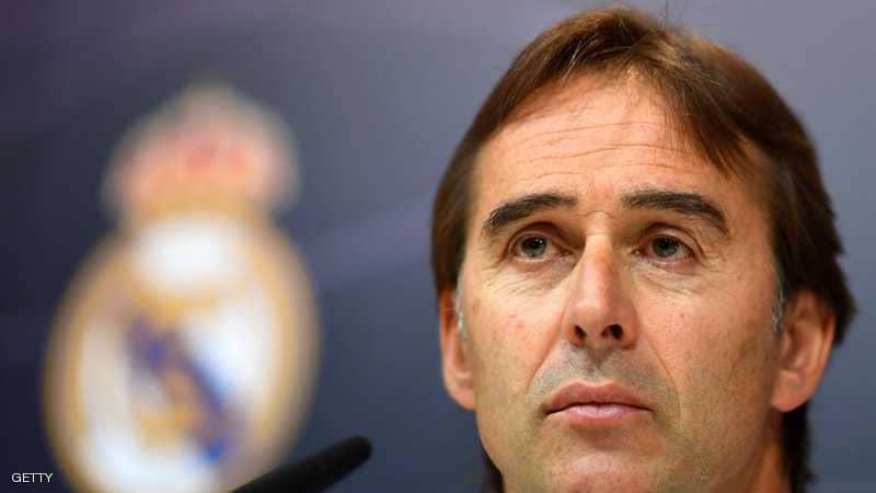 رسمياً: إقالة لوبيتيغي من ريال مدريد.. وسولاري يخلفه مؤقتا