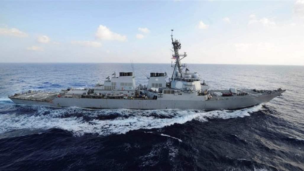 اميركا ترسل مدمرة جديدة إلى خليج عمان