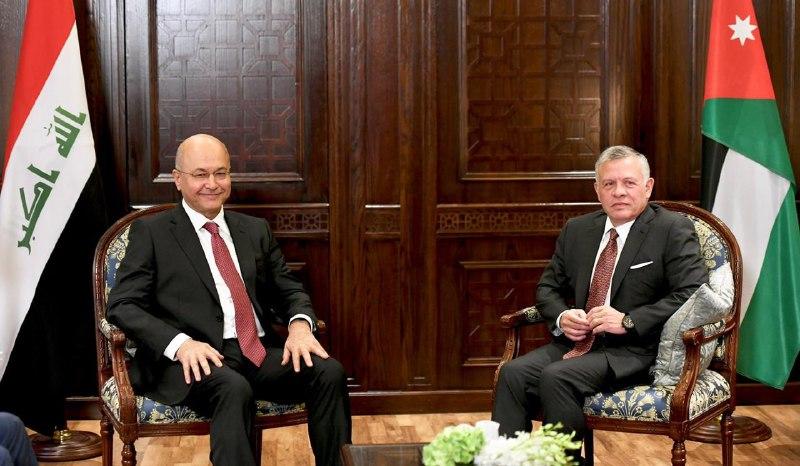 الرئيس صالح والملك عبد الله يؤكدان مواصلة التنسيق والتشاور بين البلدين