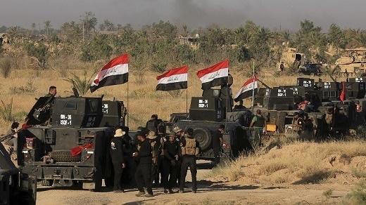 مكافحة الارهاب تعلن طي الصفحة الأولي من عمليات تحرير الموصل