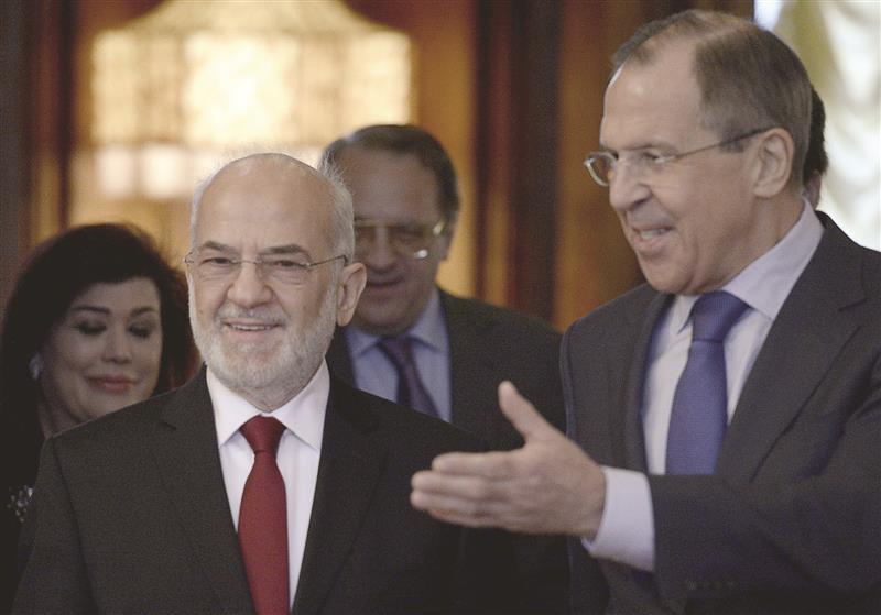 الجعفري في موسكو للقاء لافروف وبحث أزمة استفتاء كردستان