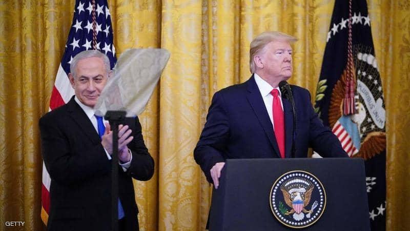 ترمب: خطتي  قد تكون الفرصة الأخيرة للفلسطينيين للحصول على دولة مستقلة