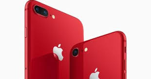 أبل تطلق نسخ حمراء من أيفون 8 و 8 بلس..تعرف على سعرها