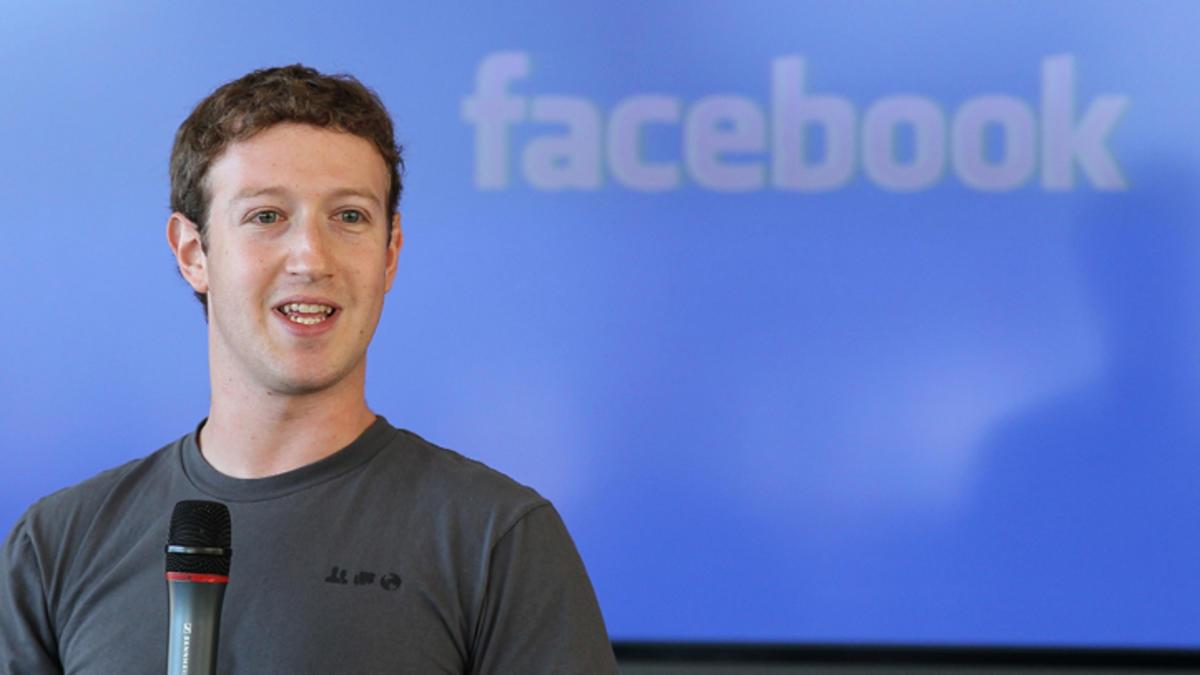 مارك زوكربيرج: وصل عدد مستخدمى تطبيق  الفيس بوك إلى 1,2 مليار مستخدم يومى