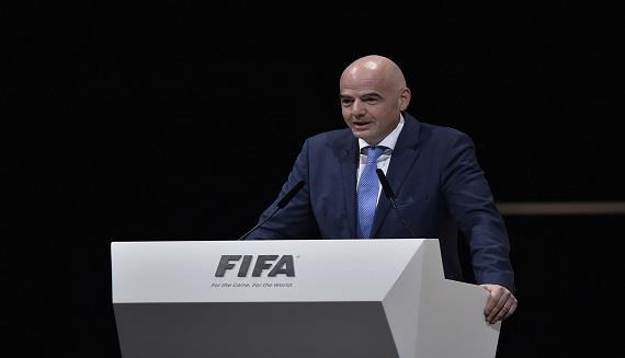"رسمياً ..  اعادة انتخاب انفانتينو رئيساً لـ""فيفا"""