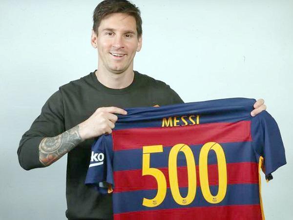 ميسي يشغل الليغا وصحف العالم بهدفه  رقم 500 أمام مدريد