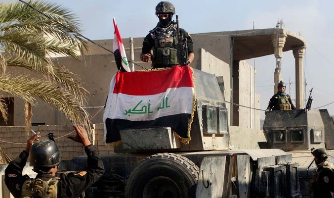 مكافحة الارهاب تحرر حي التحرير شرق مدينة الموصل من عصابات داعش