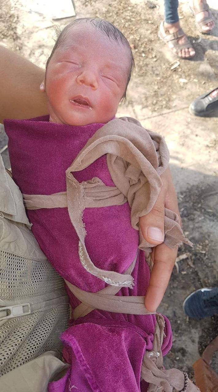 بالصور ..  العثور على على جثة طفلة مرمية في منطقة الغابات ضمن الموصل