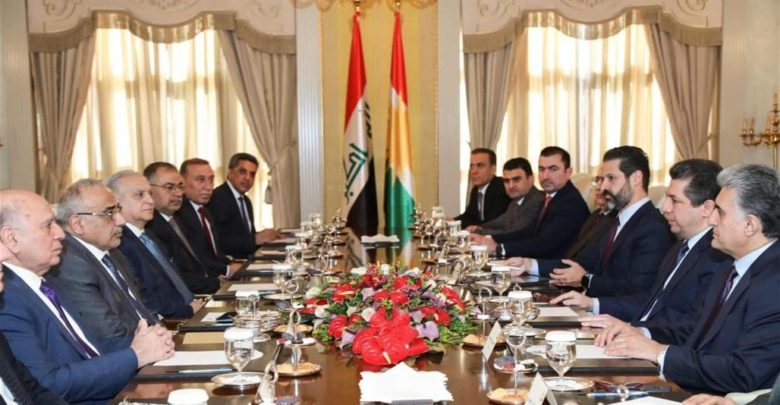 Abdul-Mahdi proposes to hand over Kirkuk to the Kurds in exchange for supporting his assignment to the prime minister again Image