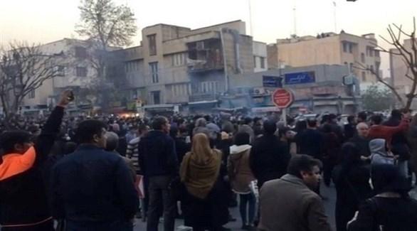 طوفان التظاهرات يجتاح 18 مدينة إيرانية بسبب ارتفاع أسعار الوقود