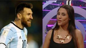 ميسي يضع مذيعة أرجنتينية في ورطة ؟!