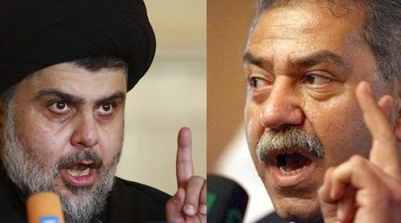 An example of Al-Maliki to Muqtada al-Sadr: Beware of the Iranian assassination teams .. You are at the top of the list! Image