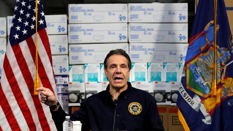 حاكم نيويورك: عدد الوفيات بفيروس كورونا في الولاية بلغ 285 حالة وحصيلة الإصابات تتجاوز 30 ألفا