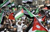 مسيرة في الأردن ضد تدخل حزب الله بسورية