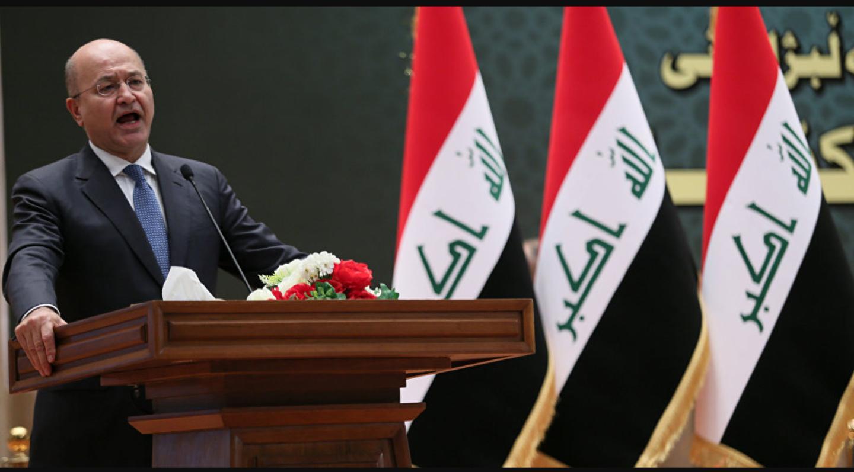 مبعوث الأمم المتحدة يهنىء صالح بتوليه رئاسة العراق
