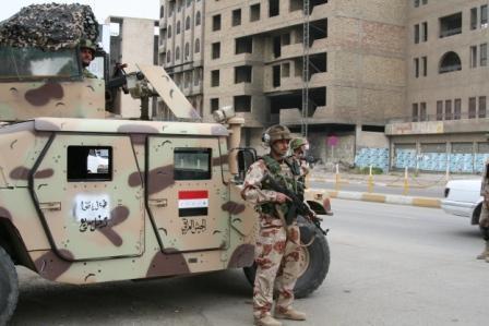القطعات العسكرية تدخل مستشفى السلام في الساحل الايسر من الموصل