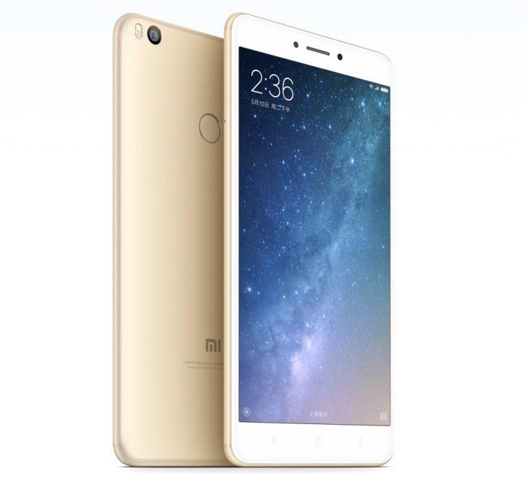 شياومى الصينية تطرح هاتفها الجديد Mi Max 2 تعرف على مواصفاته ؟؟