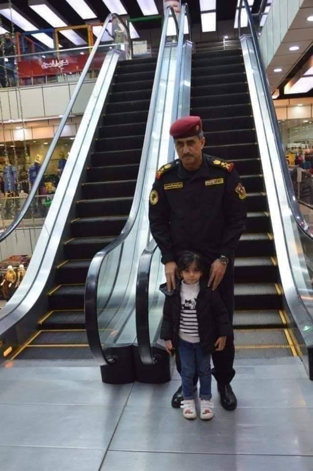 الساعدي يحصل على شهادة القائد العسكري الاول في العالم من لندن