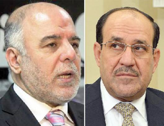 Maliki criticized the decision to halt the bombing of al-Abadi Iraqi cities