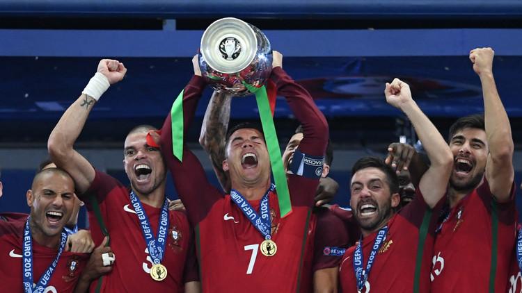 لأول مرة البرتغال تتوج بلقب بطلة كأس اوروبا