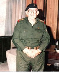 وفاة مؤسس الجيش العراقي في عمان
