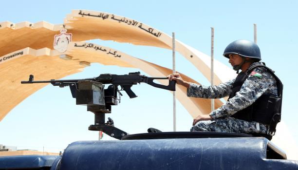 الأردن ينفي تحشيد قواته على الحدود العراقيّة